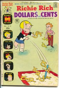 Richie Rich Dollars and Cents #56 1973-Harvey-Little Dot-Little Lotta-extra s...