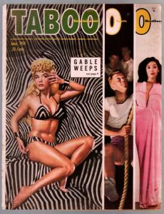Taboo #7 6/1950-cheesecake-Lilli Christine-Laily salden-Lauren Bacall-VG+