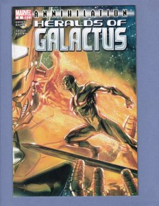 Annihilation Heralds of Galactus #2 VF/NM Silver Surfer Firelord Marvel 2007