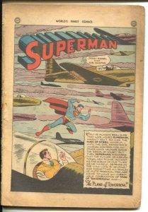 World's Finest #21 1946-DC-Superman-Zatara-Green Arrow-P