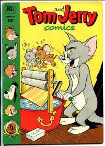 Tom & Jerry #91 1952-Dell-MGM Cartoons-Barney Bear-Benny Burro-Tuffy-VG