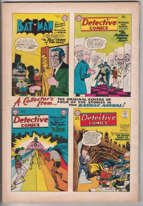 Batman Annual #3 (Jul-62) FN+ Mid-High-Grade Batman