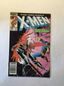 Uncanny X-Men 201 Near Mint Nm Newsstand Edition First Nathan Summers Marvel