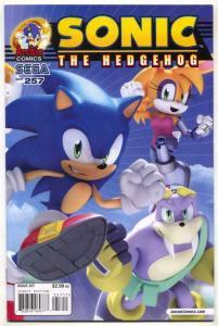 Sonic The Hedgehog #257 2014- Archie Comics Sega VF