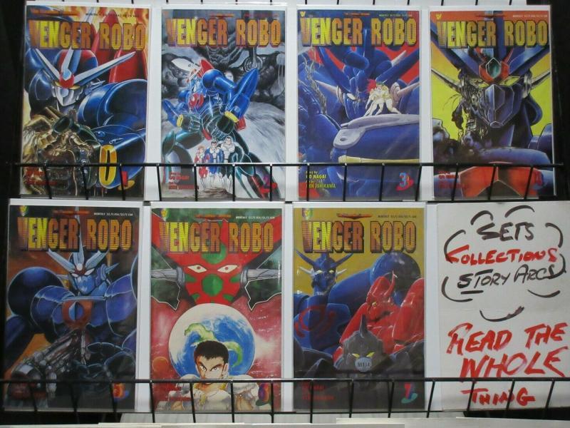 VENGER ROBO (1993 VIZ) GO NAGAI/ MINAGAWA