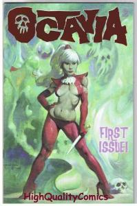 OCTAVIA #1, NM, Limited Red Foil, Mike Hoffman, 2003, more Variants in store