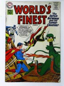 World's Finest Comics #117, Fine- (Actual scan)