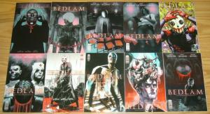 Bedlam #1-11 VF/NM complete series + 2nd printing + 3 variants - nick spencer