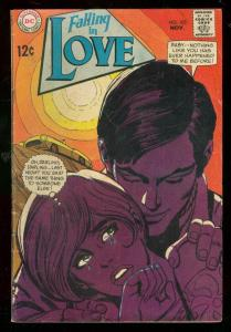 FALLING IN LOVE #103 1968-DC ROMANCE COMICS-MOTORCYCLE VG-