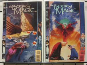BOOKS OF MAGIC 12-13 SMALL GLASS WORLDS complete