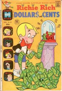 RICHIE RICH DOLLARS & CENTS (1963-1982) 54 VF COMICS BOOK