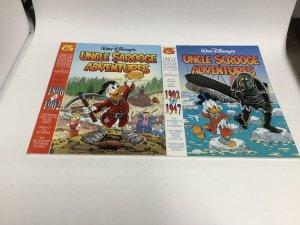 Walt Disney's Uncle Scrooge Adventures 1896-1902 1902-1947 Gladstone