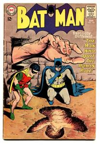 BATMAN #165 comic book-1964-DC-MAN WHO QUIT THE HUMAN RACE-fn