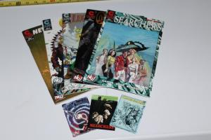 Lot of 5 Different Caliber Comics, Searchers,Construct,OZ,+ ~ VF/NM (HX466)