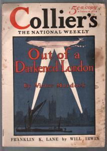 Collier's 2/26/1916-zeppelin cover-Edward Penfield-Victor Murdock-G-