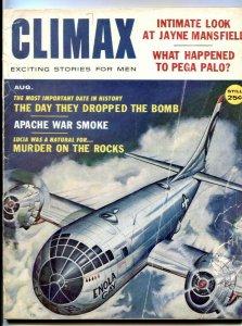 Climax Magazine August 1959- Enola Gay- Jayne Mansfield G-