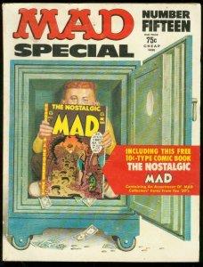 MAD SPECIAL MAGAZINE #15-1974-INCLUDES BONUS-WOOD-ELDER VG/FN