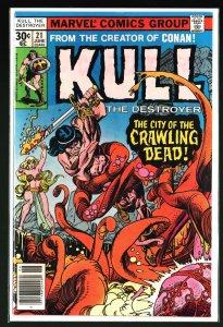 Kull the Destroyer #21 (1977)