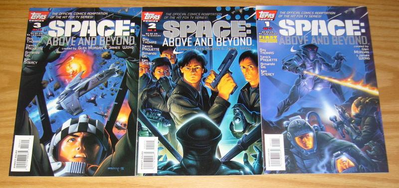 Space: Above and Beyond #1-3 VF/NM complete series adapts tv series - roy thomas