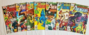 Avengers 1978 #175,176,177,178,179,180,181  LOT price on all 7  VF/NM