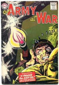 Our Army At War #61 1957- EASY CO- Sgt Rock prototype? VG