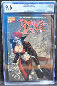Painkiller Jane #1 (Dynamite, 2006) CGC 9.6