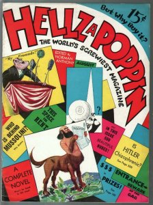 Hellzapoppin #1 8/1939-1st issue-inspiration for MAD Comics-Hitler parody-FN+