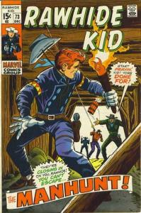 Rawhide Kid (1955 series) #73, Fine+ (Stock photo)