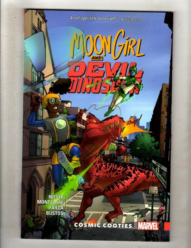 Moon Girl & Devil Dinosaur Vol 2 Marvel Comics TPB Graphic Novel Comic Book J348