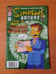 Simpsons Comics #75 ~ VERY FINE - NEAR MINT NM ~ (2002, Bongo Comics)