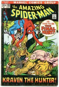 Amazing Spider-Man #18 1972- Kraven - Ka-Zar Gil Kane VG-