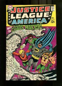 JUSTICE LEAGUE 68-1968-BATMAN HORROR COVER VG