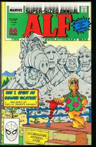 ALF #1 ANNUAL EVOLUTIONARY WAR, NM-, Marvel,  1988, more in store