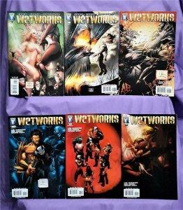Mike Carey J.M. Dematteis WETWORKS #6 - 12 Whilce Portacio (DC, 2007)!