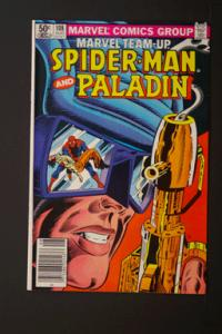 Marvel Team-Up #108 Spider-Man and Paladin August 1981