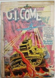 GI Combat #107 - Bad Damaged