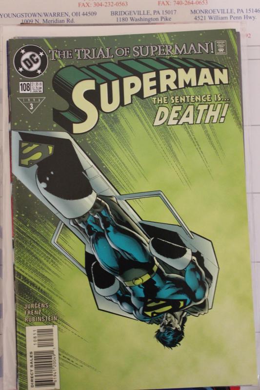 Superman  108 NM