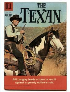 THE TEXAN #1027 1959-DELL-RORY CALHOUN-WESTERN-TV SERIES-VF+