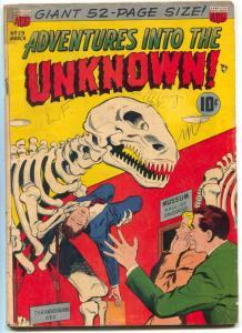 Adventures Into The Unknown #29 1952- Vampire terror VG