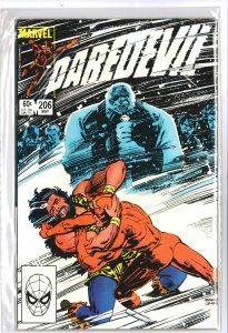 Daredevil #206 (1984)