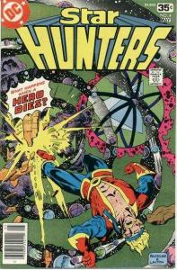 Star Hunters #4, Fine+ (Stock photo)