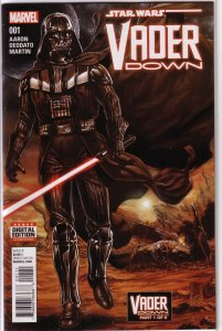 Star Wars: Vader Down #1 FN (Vader Down 1) Aaron/Deodato