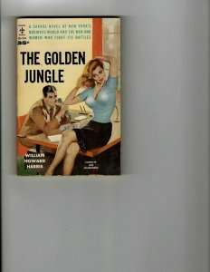 3 Books The Golden Jungle Miracle on 34th Street Bed of Hate JK17