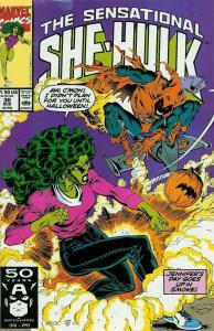 Sensational She-Hulk, The #30 VF; Marvel   save on shipping - details inside