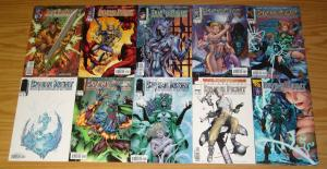 Divine Right #½ & 1-12 VF/NM complete series + preview - jim lee - max faraday