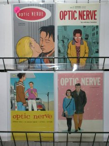 Optic Nerve #1-4 1st Printing (Drawn & Quarterly 1995) Adrian Tomine S&A pick