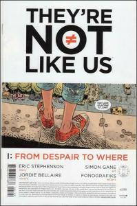 They're Not Like Us #1 (2nd) VF/NM; Image | save on shipping - details inside