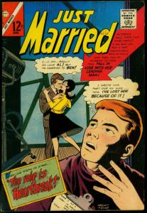 Just Married #46 1965- Spicy Romance Charlton Comic- FN