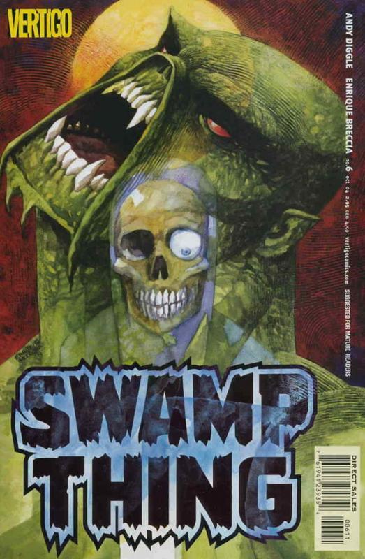 Swamp Thing Volume 4 #1 Vertigo Vf Modern Age (1992-now)