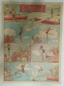 (18) Sister Susie Sunday Pages by Alice Harvey from 1936 Size:11 x 15 inches